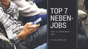 7 unkonventionelle Nebenjobs fürs 21. Jahrhundert
