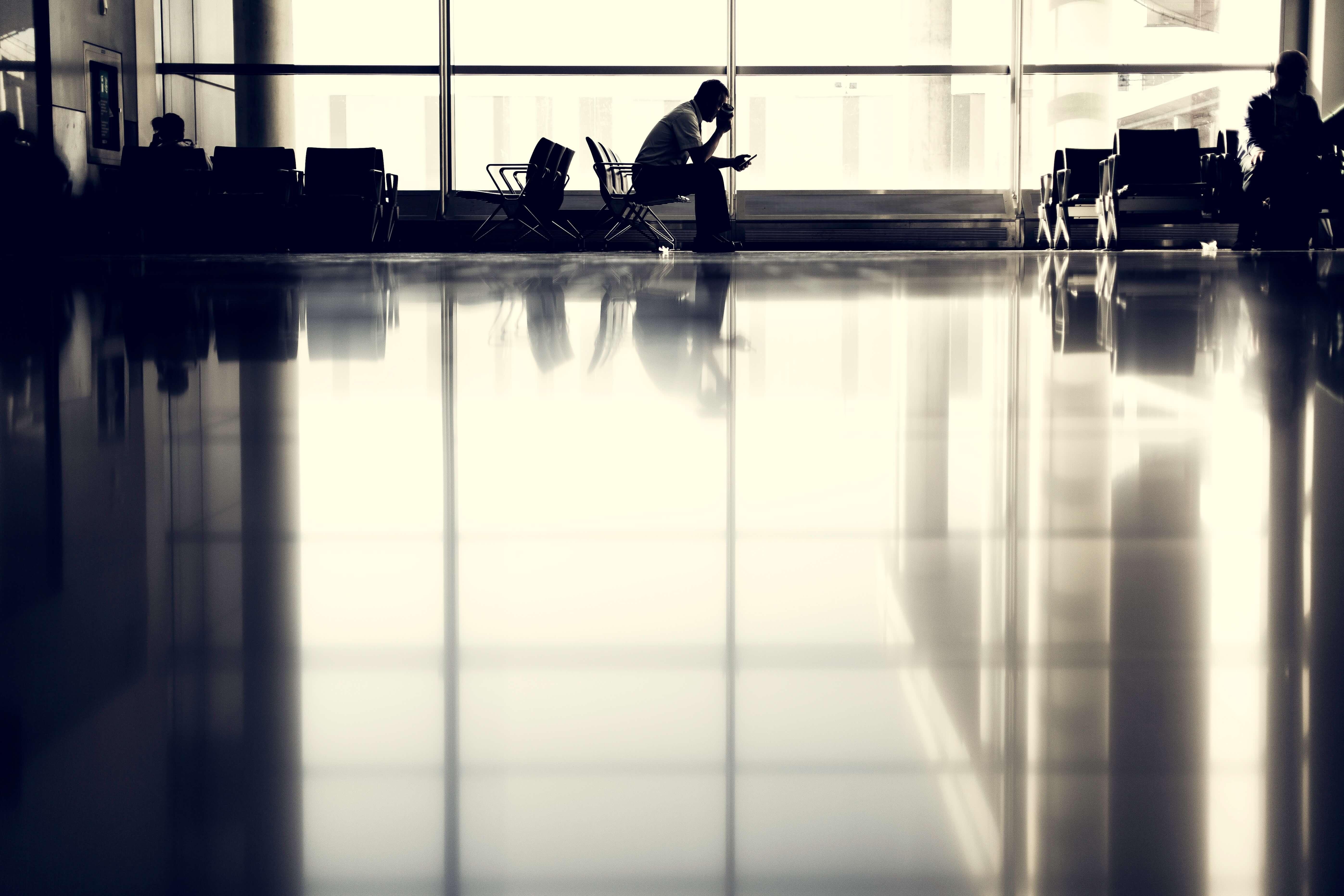 Flughafen Social Media – Smartphone
