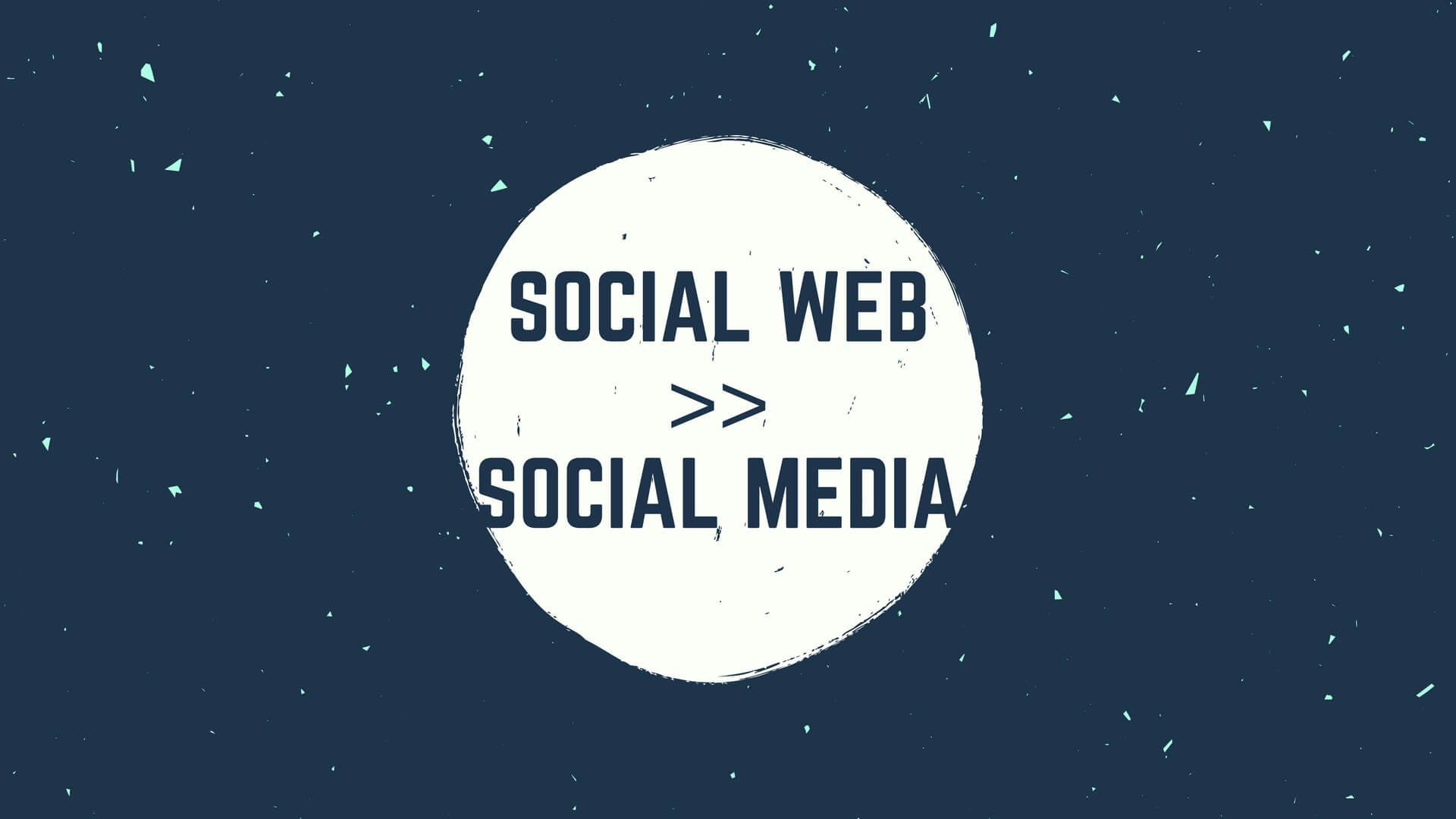 Social Media ist tot – lang lebe das Social Web