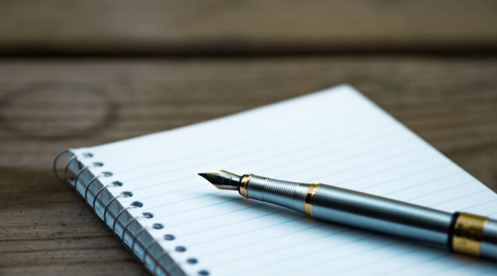 Täglich schreiben Tipps – Zwei Notizbücher für Schreiben am Morgen